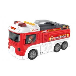 Camión de Bomberos y Parking Infantil
