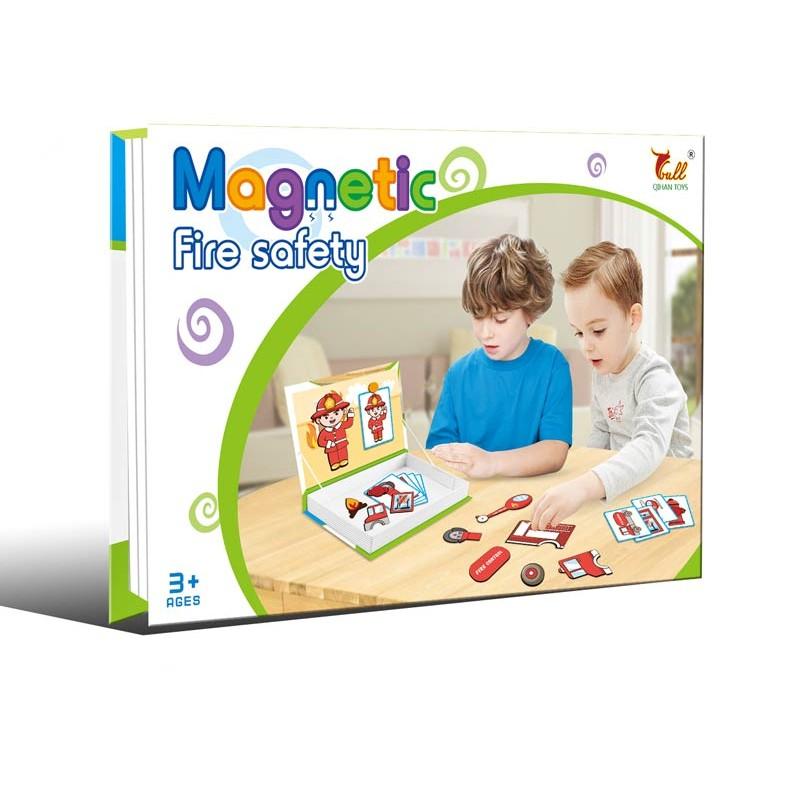 Puzzle Magnético Bomberos