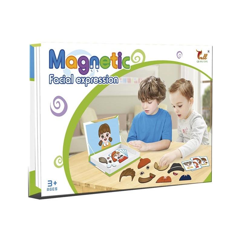 Puzzle Magnético Expresión Facial