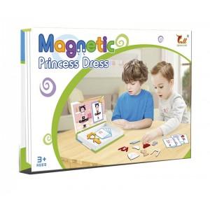 Juego Magnético Cambiador de Ropa Princesa