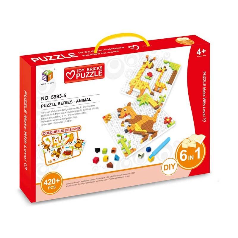 Puzzle Mosaico Animales