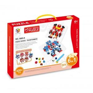 Puzzle Mosaico Robot Transformers