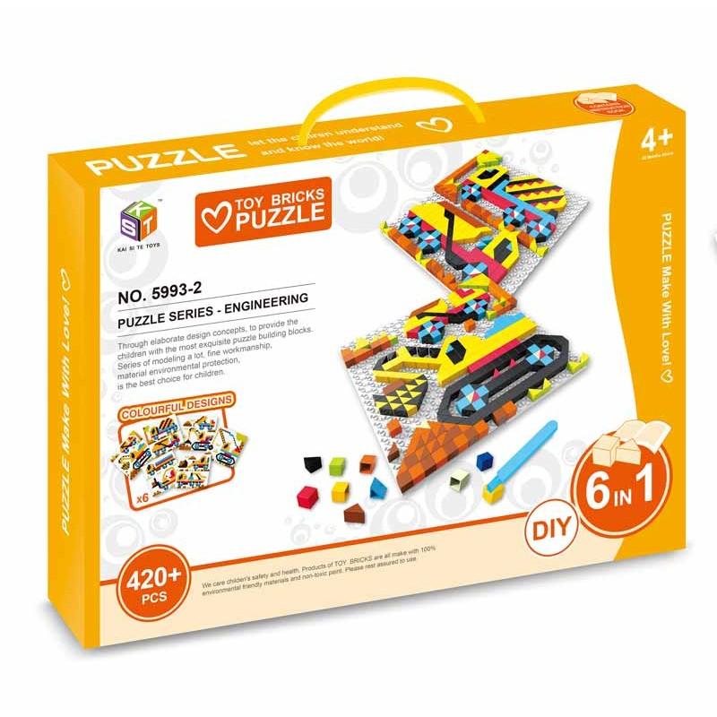 Puzzle Mosaico Vehículos