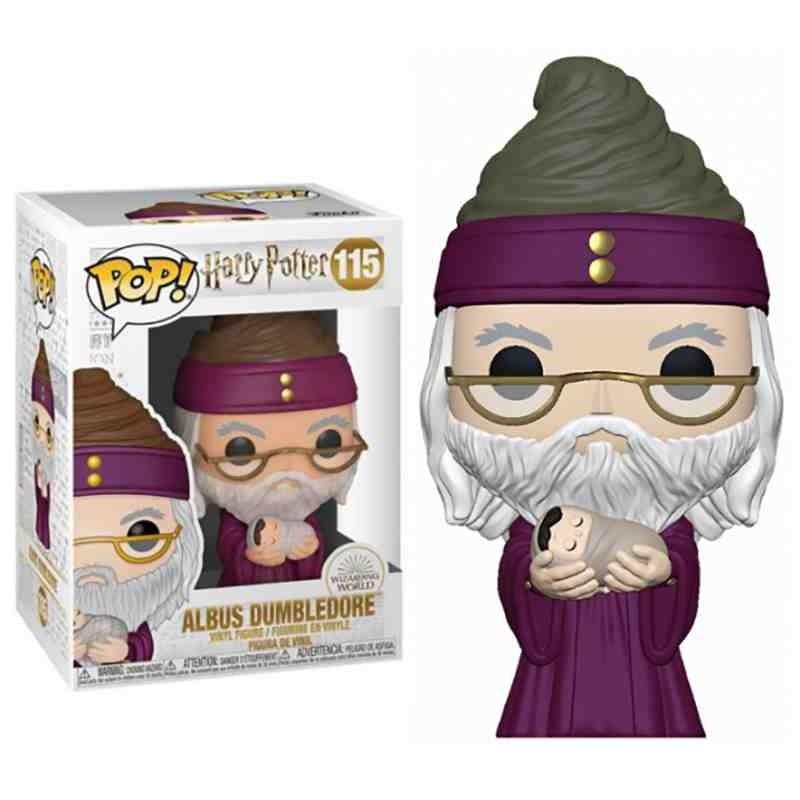 Funko Pop Harry Potter Dumbledore con Harry bebé
