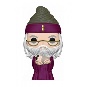 Funko Pop Harry Potter Dumbledore con Harry bebé