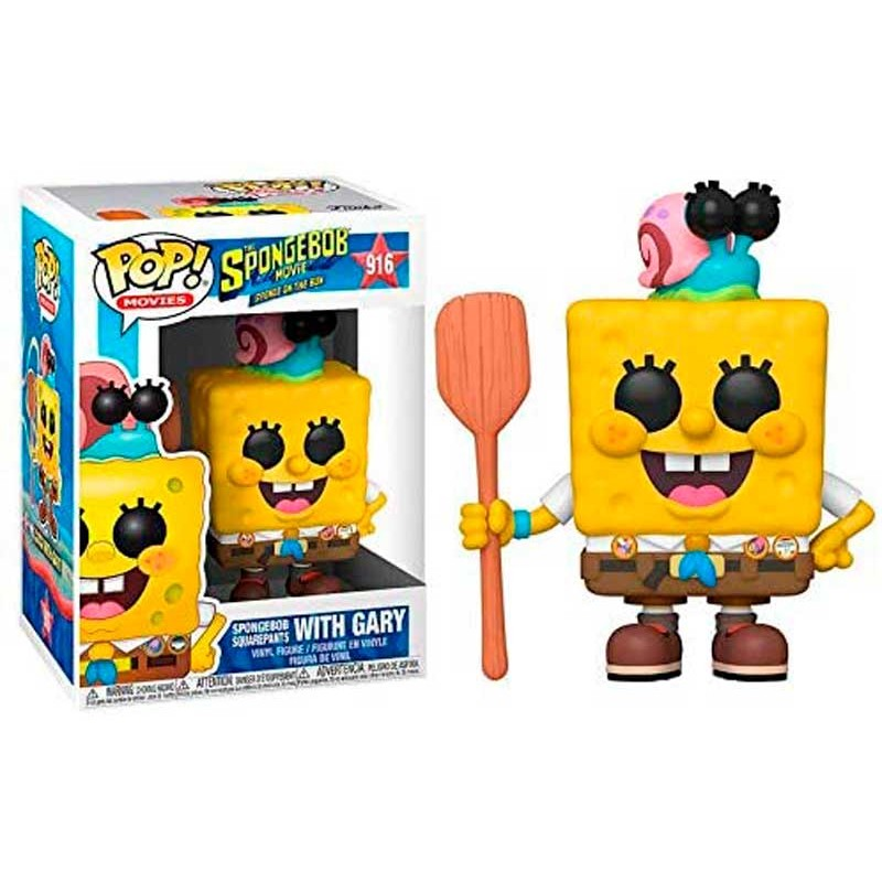 Funko Pop Bob Esponja de Campamento