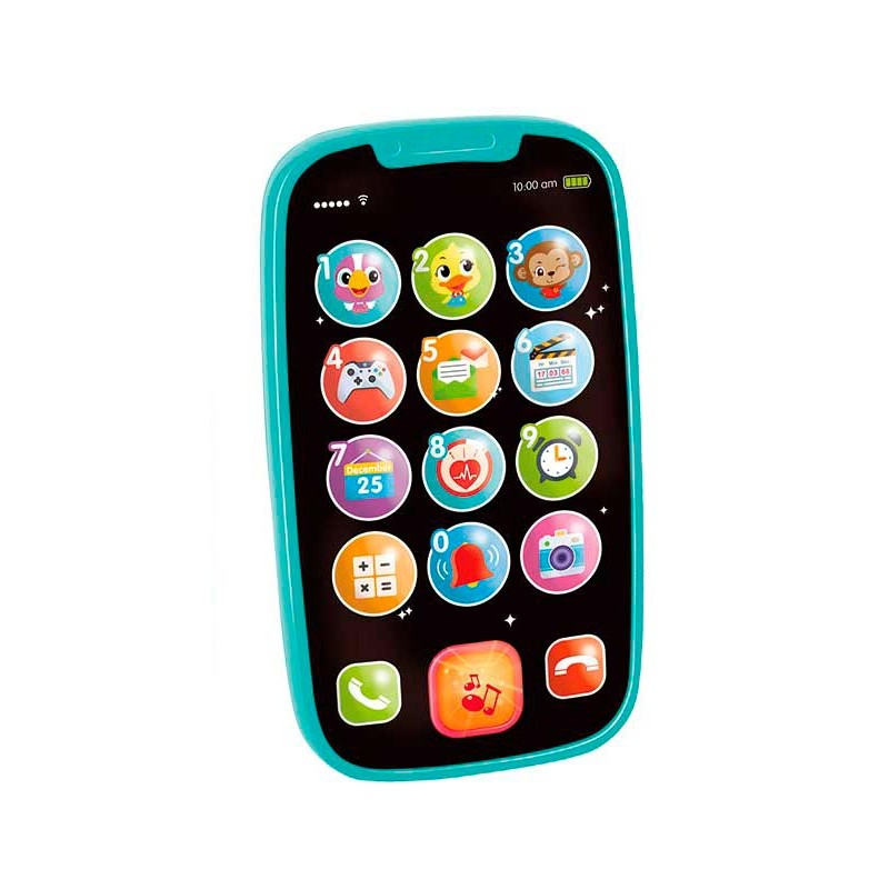 Mi Primer Smartphone Interactivo Azul