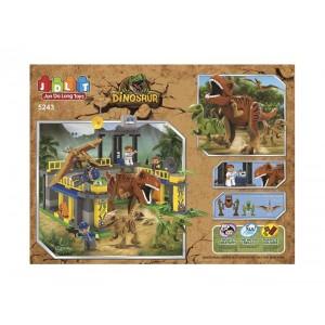Set de Bloques Parque de Dinosaurios