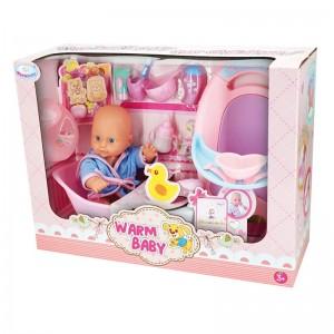 Muñeco Bebé con Bañera