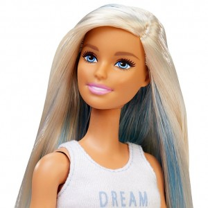 Barbie Fashionistas con Mechas Azules