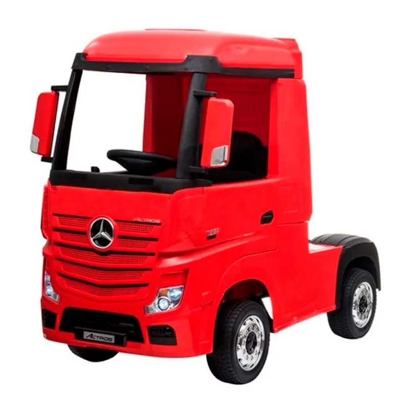 Camión Mercedes Rojo de Batería 24V para Niños