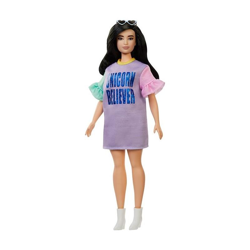Barbie Fashionistas Vestido Unicornio