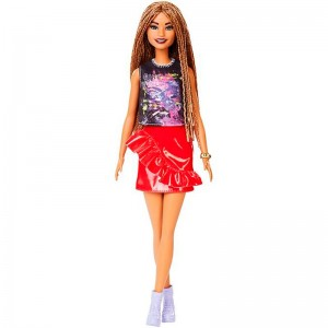 Barbie Fashionistas Rock And Red