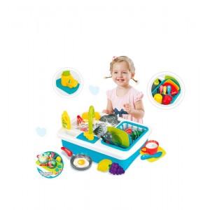 Cocina y Fregadero Infantil 2 en 1