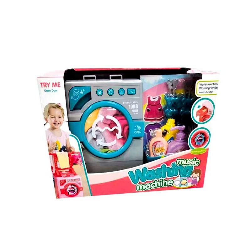 Lavadora Infantil con Sonidos y Accesorios