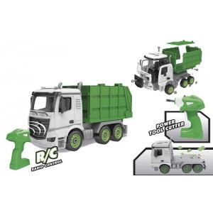 Crea tu Camión de basura 2.4 GHZ
