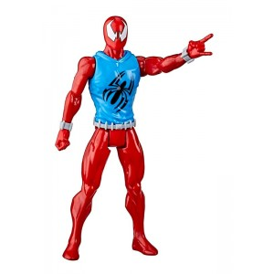 Figura Spider-Man Marvel Scarlet Titan Web Warriors