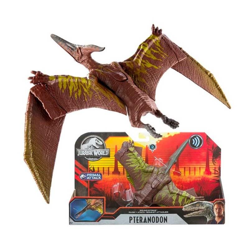 Jurassic World Dinosaurio Pteranodon Primal Attack