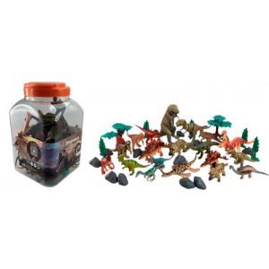 Cubo de 40 Piezas Dinosaurios
