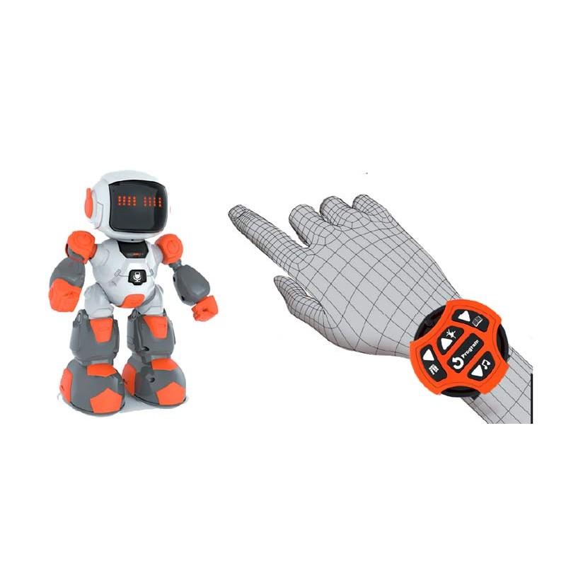 Robot con Control Sensor Manual