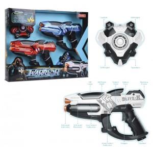 Pack 2 Pistolas Espaciales y Escudo