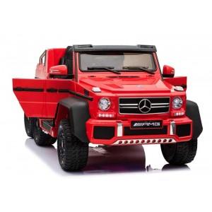Coche Infantil Mercedes Rojo de Batería 12V