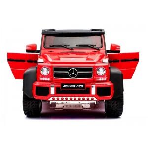 Coche Mercedes G63 Rojo Batería 12V para Niños