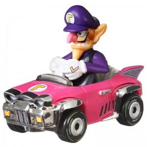 Hot Wheels Mario Kart Waluigi