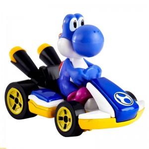 Hot Wheels Mario Kart Yoshi Blue