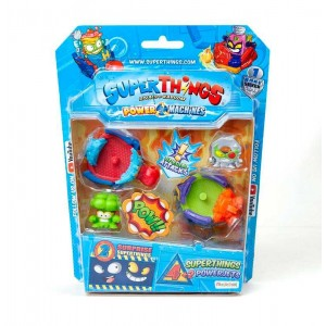SuperThings Serie 7 Blister 4 Figuras + 2 PowerJets