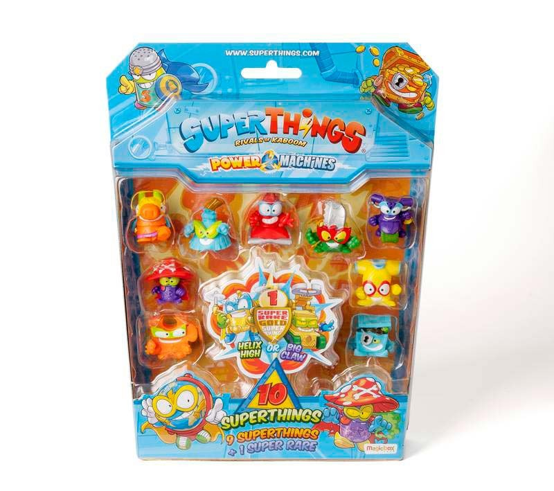 SuperThings Serie 7 Blister 10 Figuras