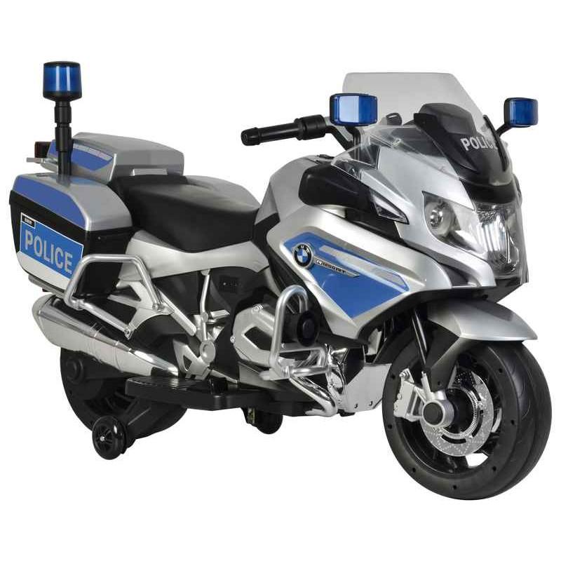 Moto Policía Nacional para Niños de Batería 12V