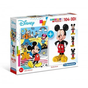 Puzzle 3D Mickey Mouse