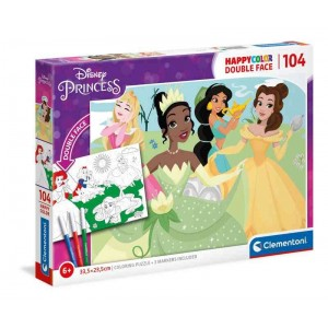 Puzzle Disney Princess Doble Cara