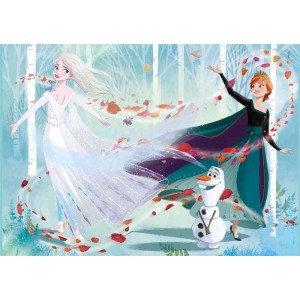 Puzzle Frozen 2 Disney Doble Cara