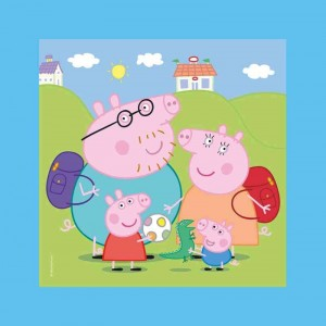 Puzzle Frame me up Peppa Pig