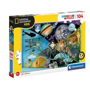 Puzzle National Geographic Kids