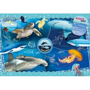 Puzzle Ocean Explorer National Geographic Kids