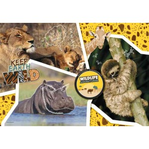 Puzzle Wildlife Adventure National Geographic Kids