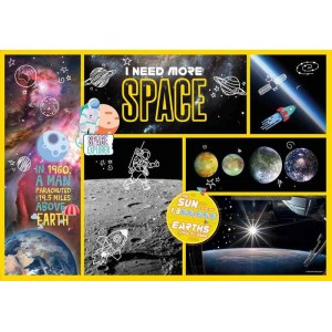 Puzzle I need more Space National Geographic Kids