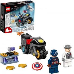 LEGO Súper Héroes Capitán América contra Hydra