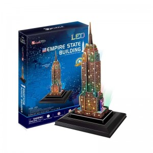 Puzzle 3D Empire State con Luces LED