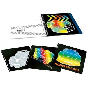 Monster Cars Cuaderno MagicScratch