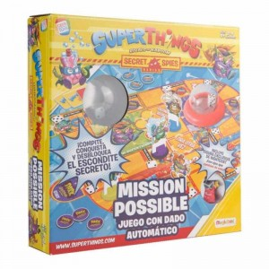 Juego de Mesa Mission Possible Superthings