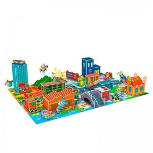 Puzzle 3D Superthings Kaboom City