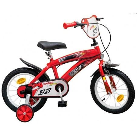 Bicicleta 14 pulgadas TX Roja