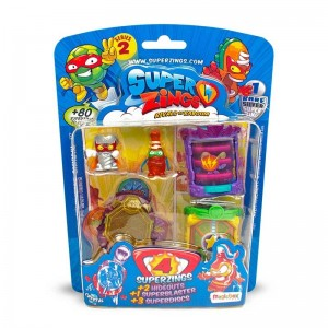 Superzings Blíster Pack 4 Figuras