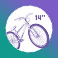 "Bicicletas 14"""