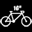 "Bicicletas 16"""